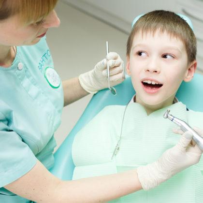 детская стоматология - озонирование зубов