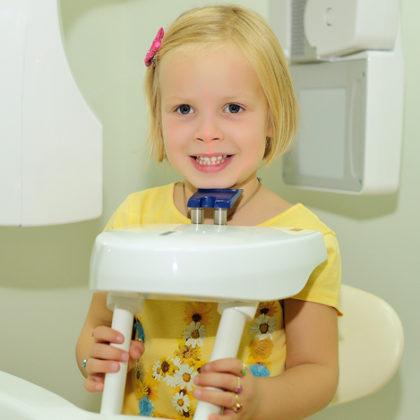 стоматологическая диагностика - прицельный снимок зуба