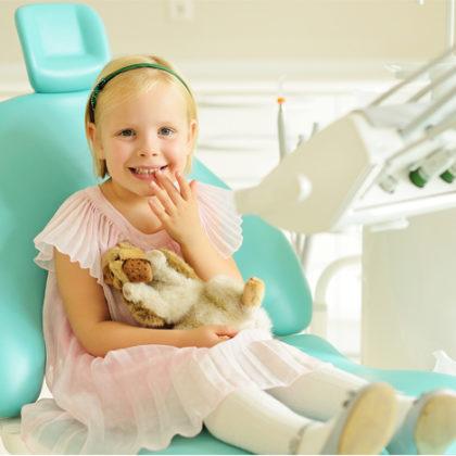 детская стоматология - удаление молочных зубов