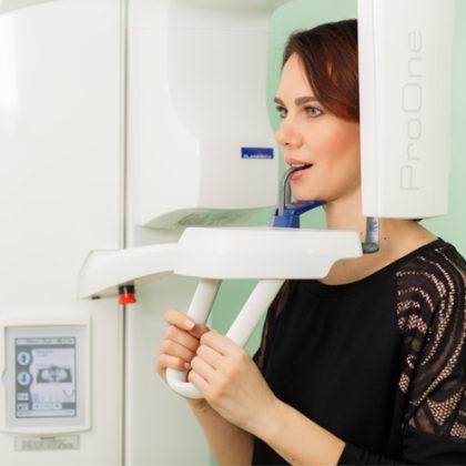 стоматологическая диагностика - панорамный снимок зубов
