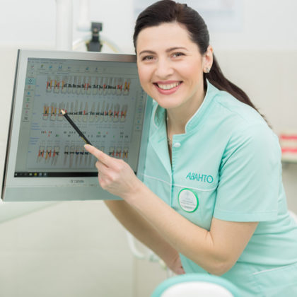 Гигиена и пародонтология - Профессиональная чистка зубов