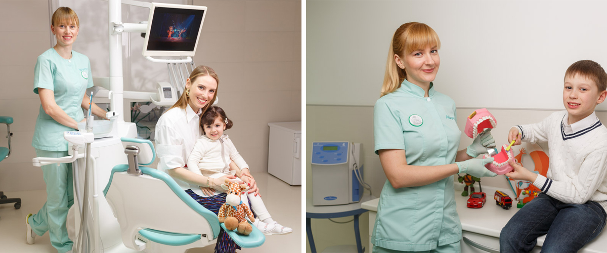 Kyiv children dental ozonation, Ukraine