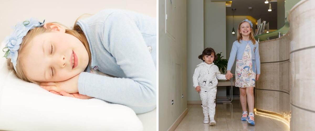 Киев лечение зубов во сне у детей, Подол