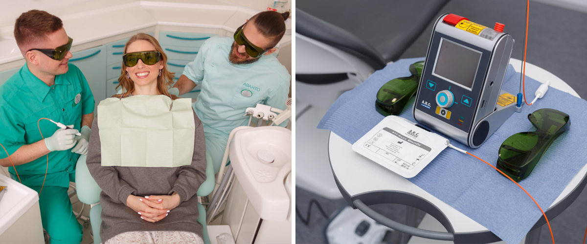 Laser teeth whitening in Kyiv, Ukraine